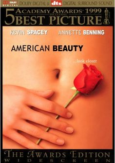 American Beauty movie dvd cover