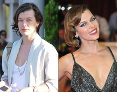 Milla Jovovich without makeup in Los Angeles on Sept. 25, 2012.