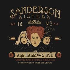 Check out this awesome 'Sanderson+Sisters' design on @TeePublic!