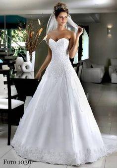 Vestido de Noiva Modelo 1036