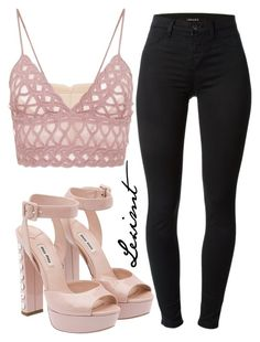 Untitled #591 by leximt on Polyvore featuring polyvore, fashion, style, Jonathan Simkhai, J Brand, Miu Miu and clothing