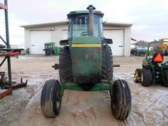 John Deere 4630 tractor salvaged for used parts. This unit is available at All States Ag Parts in Downing, WI. Call 877-530-1010 parts. Unit ID#: EQ-25407. The photo depicts the equipment in the condition it arrived at our salvage yard. Parts shown may or may not still be available. http://www.TractorPartsASAP.com