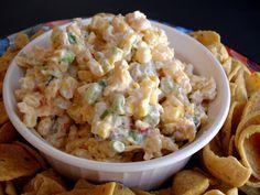 corn dip with cream cheese | Mexican Corn Dip | Veronica's Cornucopia