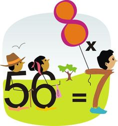 book that teaches multiplication and division at the same time using visuals and story
