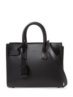 Classic Nano Leather Sac de Jour Carryall from Saint Laurent Handbags