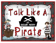 Arrrrrgghhhh You Ready for National Talk Like a Pirate Day?  This is a fun context clues game where students learn pirate words using context clues