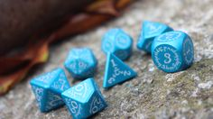 Themed dice for miniature and role-playing games. Precision cut by CNC machines to give you the best metal dice possible.