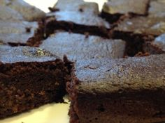 PCOS Diet Homemade Almond Milk & Brownies   Yes, I said Brownies!