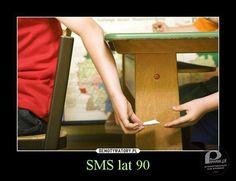 SMS a 80-as években :)