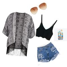 A fashion look from June 2015 featuring shirt crop top, maurices and high rise denim shorts. Browse and shop related looks. Simple Outfits, Tommy Hilfiger, Crop Tops, Polyvore, Stuff To Buy, Shopping, Collection, Design, Women