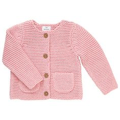 Buy John Lewis Baby's Chunky Knit Cardigan Online at johnlewis.com