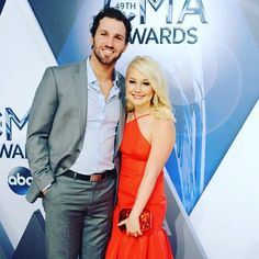 """R A E L Y N N  on Instagram: """"My better half looking so handsome on the red carpet  I'm the luckiest girl in the world. #cmaawards"""""""