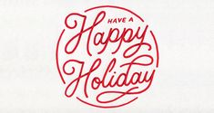 Have a Happy Holiday | Logo Design | The Design Inspiration