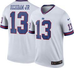 bee5d5404 Nike Men s Color Rush New York Odell Beckham Jr.  13 Legend Jersey