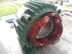 Picture of Rewinding 3 Phase Motor