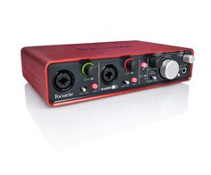 Focusrite Scarlett The 2 in / 4 out USB audio interface for musicians and digital DJs. (ex VAT) Apple Store Uk, Podcast Setup, Microphone For Recording, Monitor, Software, Recording Equipment, Home Studio Music, Digital Audio, Musical Instruments