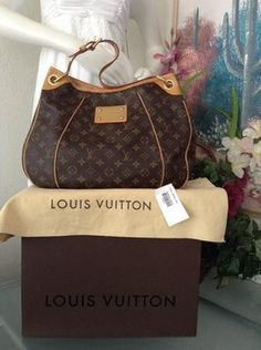 2881425c26e4 Galliera Pm Brown Monogram Tote · Black HandbagsHandbags On SaleLv  HandbagsLouis Vuitton ...