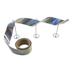 Bird-X Irri-Tape Bird Repellent Ribbon 100-Foot Kit by Bird-X. $19.00. Bothers all of a bird's senses. 3-D holographic effect. Use anywhere. Simple to install. Repels all pesky birds. Holographic ribbon drives away birds. Irri-Tape bothers all of a bird's senses. As a visual deterrent, birds are scared by the material's sheen, as the light causes constantly changing reflections and shadows. As a sound deterrent, birds are rattled by the fierce metallic noise ir...