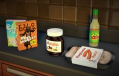Decor: Pilar`s food clutter recolor from Martine Simblr • Sims 4 Downloads