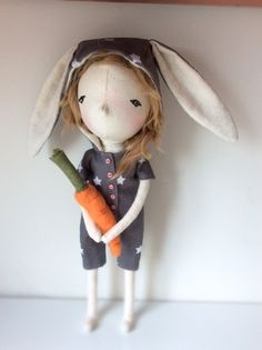 Handmade doll by A Stitch To Remember Handmade Dolls, Stitch, Sewing, Room, Bags, Handbags, Full Stop, Dressmaking, Couture