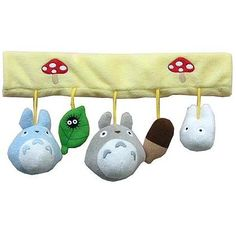 Totoro baby rattle for car/stroller