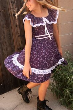 Making Stuff: Gunne Sax Dress Refashion
