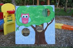 Audreys party, Ha!! Little owl photo booth...i can so make this!*!