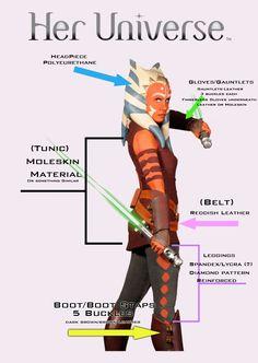 Asoka costume breakdown