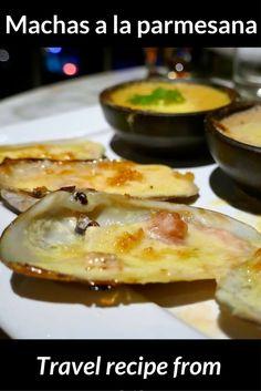 Recipe for Chilean machas a la parmesana