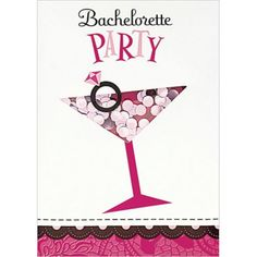 Bachelorette Shaker Invitations - Party City Canada