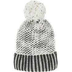 Free People - River Locks Knubby Pom Beanie - Women's Grey Gloves, Stay Warm, Locks, Gifts For Women, Scarves, Free People, Winter Hats, Crochet Hats, Beanie
