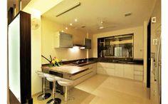 Large kitchen design by B-square Architects, Architect in Nashik, Maharashtra, India