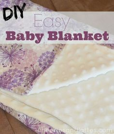 Easy Baby Blankets