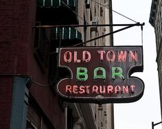 Old Town Bar on 45 East 18th St. (Flatiron)