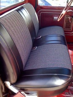 Chevy Pickup Truck Front Bench Seat Cover Upholstery 47 48