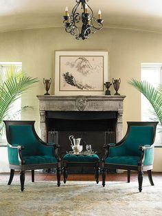 Ernest Hemingway Collection - Anson Chair - Thomasville Furniture
