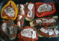 Légumes farcis sauce Bolognaise