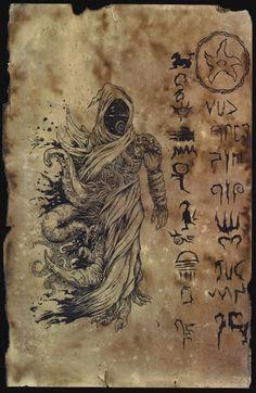 Unaussprechliches Dokument 005 - Anbetung von Nyarlathotep