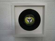 "The Beatles - ""Hey Jude"" Wall Framed 7"" Record £24.99"