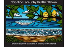 PIPELINE LOCALS - The Surf Art of Heather Brown: August 2012