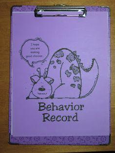 Behavior management for upper elementary grades.