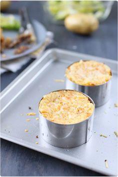 Parmentier pomme de terre / carotte de canard confit   chefNini
