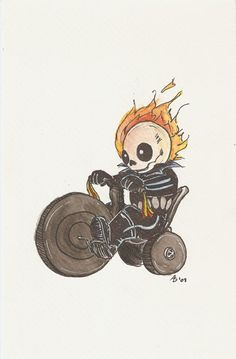Big Wheel Ghost Rider