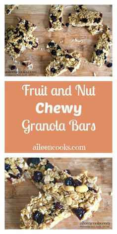 Fruit and Nut Chewy