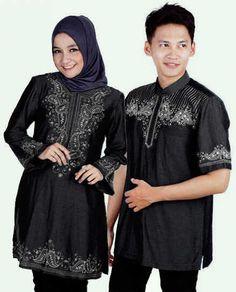 Baju Couple Muslim Denim CP05  Online dan Murah - http://www.butikjingga.com/baju-couple-muslim-denim-cp05