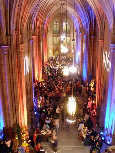 University of Pittsburgh- Cathedral of Learning during homecoming