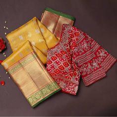 Cute Dog Wallpaper, Golden Yellow Color, Kanchipuram Saree, Soft Silk Sarees, Indian Wedding Outfits, Silk Sarees Online, Blouse Styles, Sari, Lord Vishnu