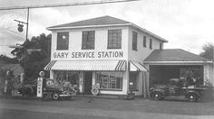 vintage gas stations   old gas station other sites gas stations location in gary hillsborough ...