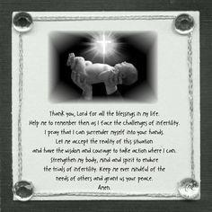 INFERTILITY PRAYER