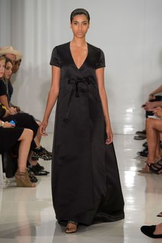 Défilé Ralph Rucci, prêt-à-porter printemps-été 2015, New York. #NYFW #Fashionweek #runway